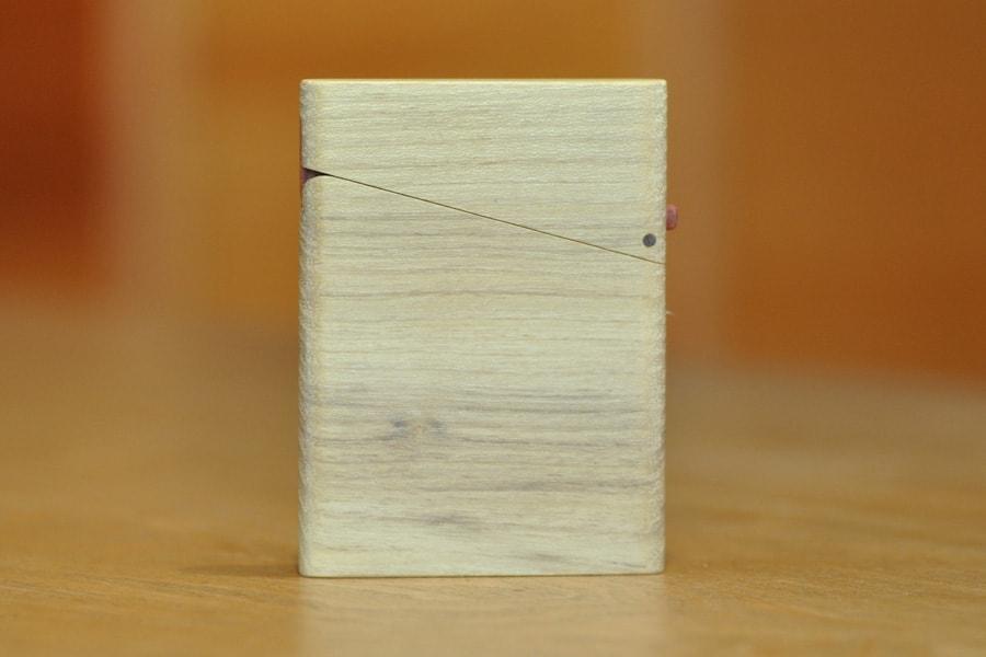 木の名刺入れ:桑(クワ) No.1