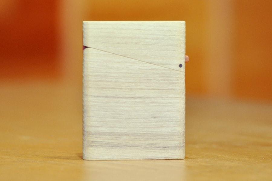 木の名刺入れ:桑(クワ) No.2