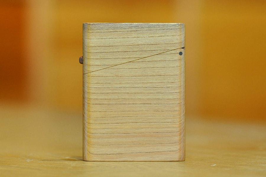 木の名刺入れ:欅(ケヤキ)