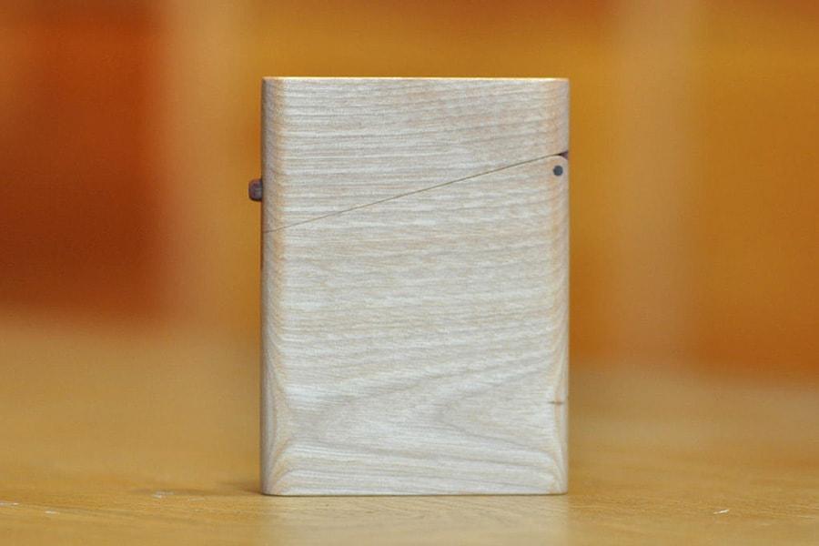 木の名刺入れ:樺(バーチ)
