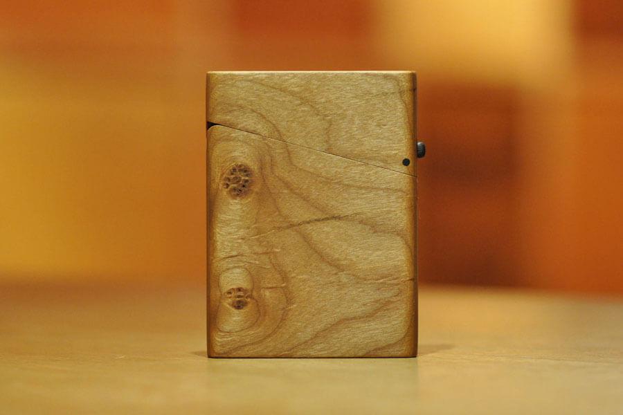 木の名刺入れ:アメリカンブラックチェリー