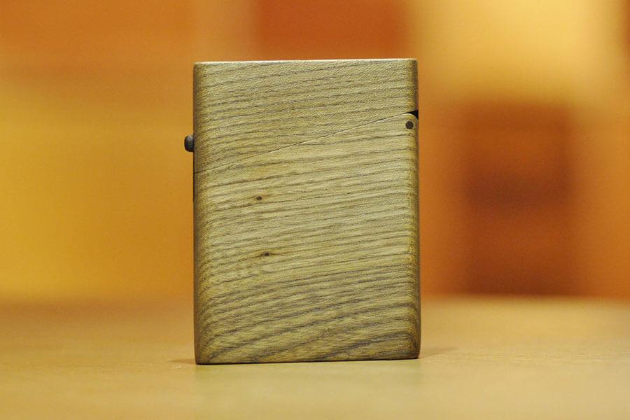 木の名刺入れ:神代楡(ニレ)