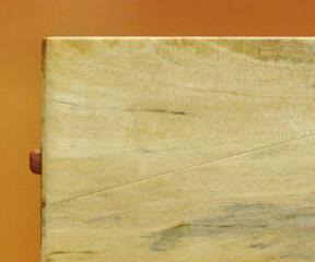 木の名刺入れ:樫(カシ)スポルテッド No.2