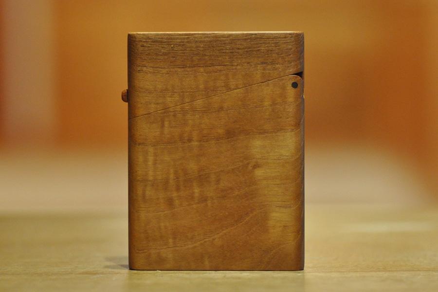 木の名刺入れ:マホガニー