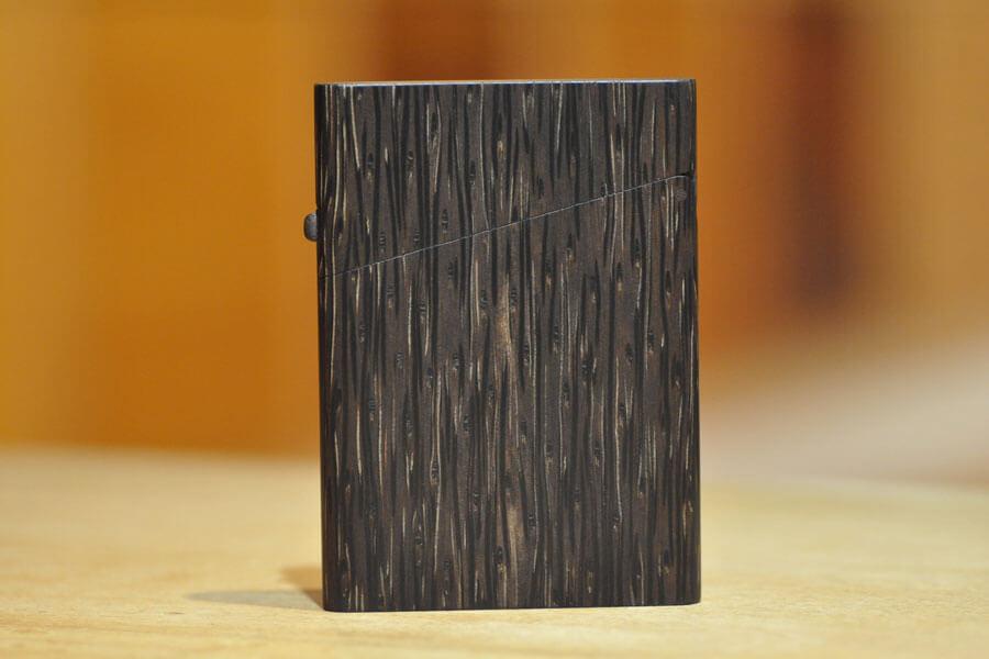 木の名刺入れ:檳榔子(ビンロウジ)
