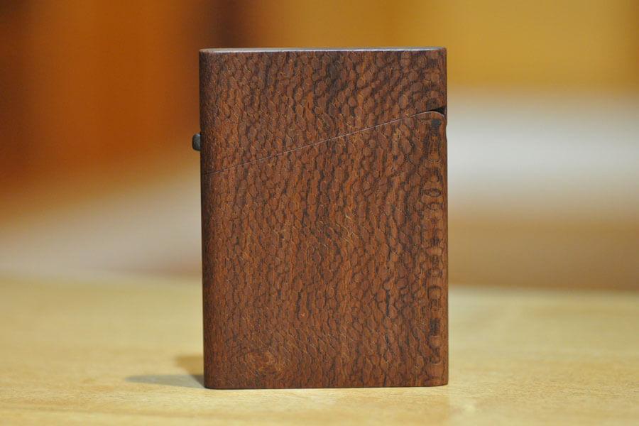木の名刺入れ:ビーフウッド