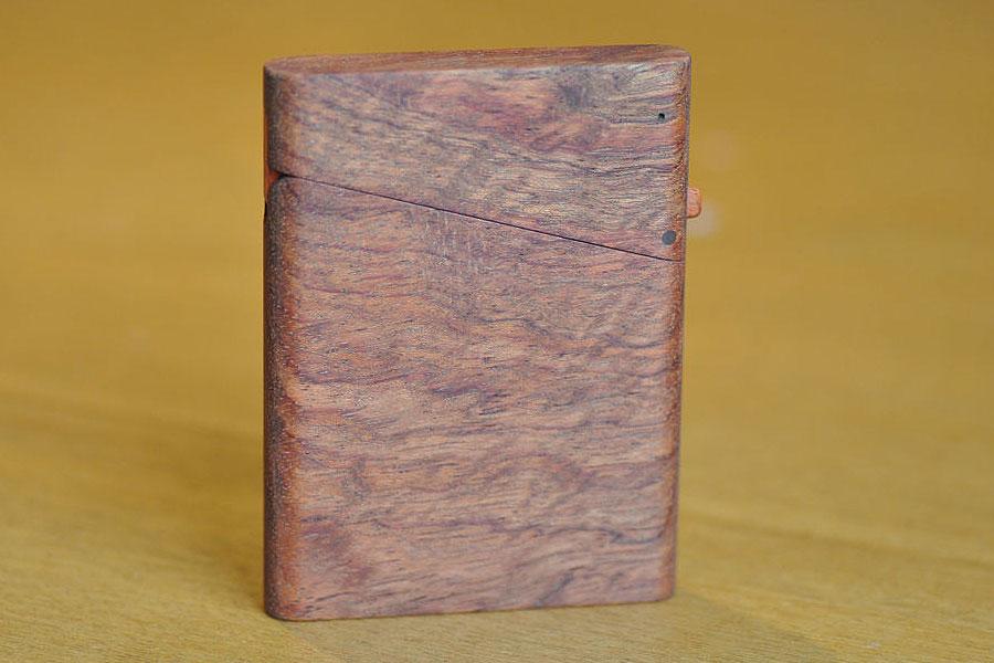木の名刺入れ:ブビンガ