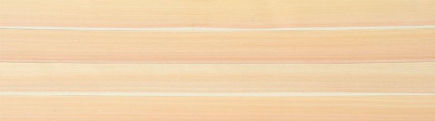 無垢フローリング 桧柾目(1枚物・柾目節無・無塗装)拡大画像
