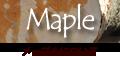 メープルなどカエデ科カエデ属の広葉樹について