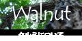 ブラックウォールナットやオニグルミなどクルミ科の広葉樹について